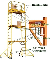 Scaffold Rolling Tower