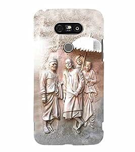 Lord Sai Baba 3D Hard Polycarbonate Designer Back Case Cover for LG G5 :: LG G5 H850 H820 VS987 LS992 H860N US992