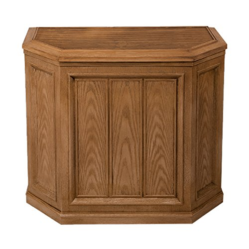 AIRCARE 696 400HB Digital Whole-House Console-Style Evaporative Humidifier, Light Oak - 1