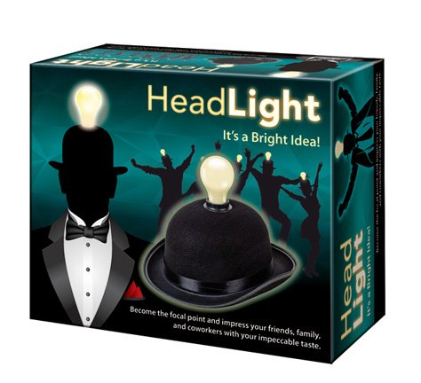 Westminster Head Light Lightbulb Hat (Fashion Lightbulbs compare prices)