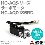 三菱電機 HC-AQ0135BD サーボモータ HC-AQシリーズ (小容量・超低慣性) (定格出力容量 10W) NN