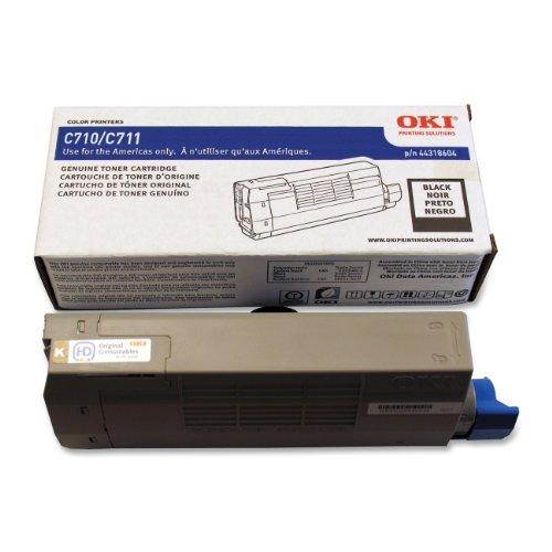 Oki 44318604 Black Toner For Series C711 Printers - Type C16 - 11K Yield