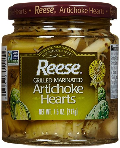 Reese Grilled Marinated Artichoke Hearts - 7.5 Ounces (Grilled Artichoke Hearts compare prices)