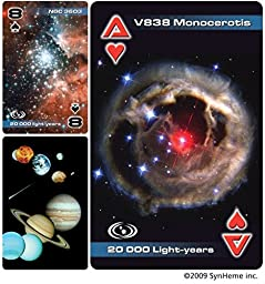3B Scientific U49750A Playing Cards, Astronomy