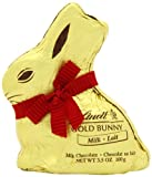 Lindt GOLD BUNNY Milk Chocolate, 3.5-Ounce