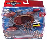 Hot Wheels Battle Force 5 Fangore Vehicle & Captain Kalus