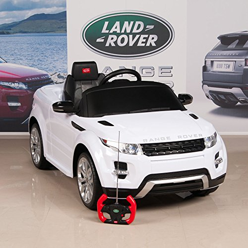 range-rover-evoque-12v-battery-operated-remote-controlled-ride-on-car-w-mat-and-keychain-white