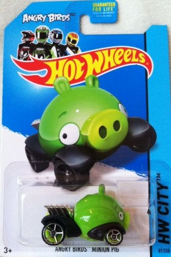 Hot Wheels 2013 Angry Birds Minion Pig HW CITY 81/250 - 1