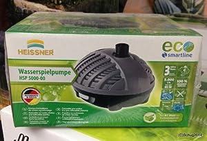 HEISSNER HSP500000 Smartline TeichpumpenSet 5000 L/h  GartenKundenbewertungen