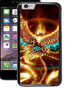 ColourCraft Flaming Eagle Design Back Case Cover for APPLE IPHONE 6