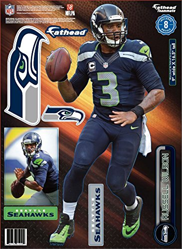 NFL-Seattle-Seahawks-Russell-Wilson-Teammate-Player-Fathead-9-x-165-inches