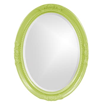 Howard Elliott 40101Mg Queen Ann Green Mirror