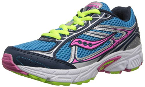 Saucony Girls Cohesion 7 Lace Running Shoe (Little Kid/Big Kid)