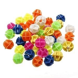 Fahrradspeichen Perlen Speichenklicker rund bunt 45 Stk.