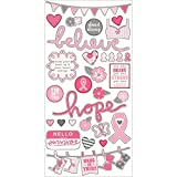 Simple Stories 2049 Fundamentals Simple Sets Hope Cardstock Stickers, 6