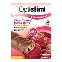 オーストラリアで人気のダイエットバー6本(1本あたり100kal・チョコレートいちご味)Optislim 100 Calorie Snack Choc Coated Mixed Berry Bars 6 x35g  並行輸入品...