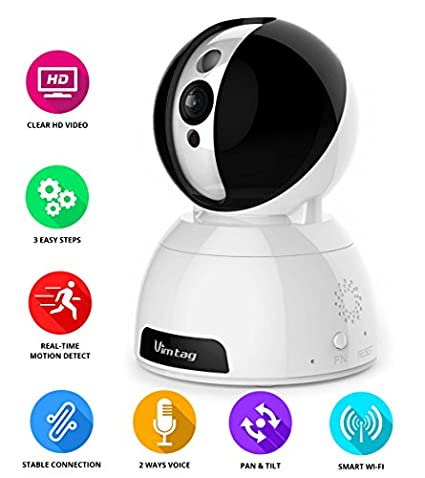 Vimtag CP1-S Wireless WiFi IP Camera