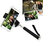 Self Shot Hand Grip Extender Monopod Rod Mount Holder For iPhone 4 4S 5/5G 5C 5S