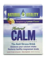 Natural Calm Packets Raspberry Lemon from Natural Vitality