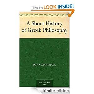 Logo for A Short History of Greek Philosophy
