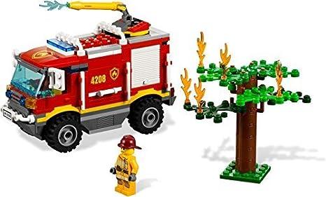 Lego City - 4208 - Jeu de Construction - Le Camion de Pompier - Tout Terrain