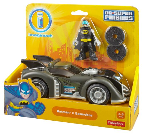 Batmobile Toy Imaginext Batmobile Toys Games