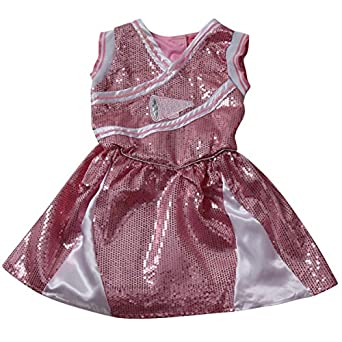 Girls Pink Cheerleader Dress (Choose Size)