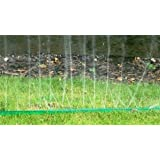 30 FEET SPRINKLER GARDEN PERFORATED WATERING SOAKER HOSE WITH UNIVERSAL FITTINGS (MAKES WATERING EASY)by HSD