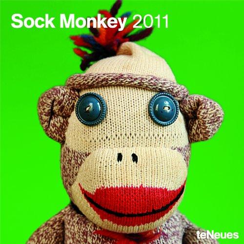 2011 Sock Monkey Wall Calendar (Square Wall Cal)
