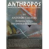 Antonio Colinas. Armonía órfica, una poética de la fusión