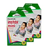 30 Sheets/Pack Fujifilm Instax Mini Film For Fuji Instant Film Camera