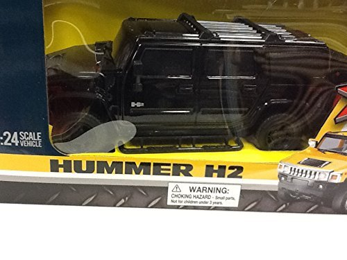 XTR Remote Controlled Hummer H2, 1:24 Scale, Black (Hummer Rc compare prices)