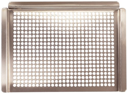Charcoal Companion CC3020 Platinum 16-Inchx12-Inch Grilling Grid