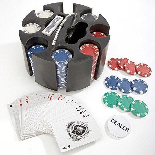 Delux Poker Caddy * Poker Set