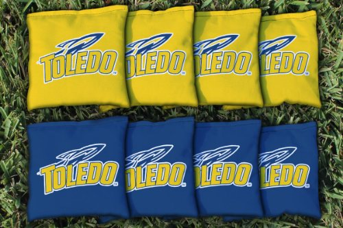 Toledo University Rockets Cornhole Bag Replacement
