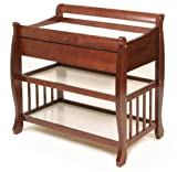 Stork Craft Heather Dressing Table with Drawer, Cherry