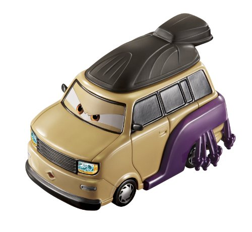 Disney / Pixar CARS 2 Movie 155 Die Cast Car Oversized Vehicle Kingpin Nobunaga - 1
