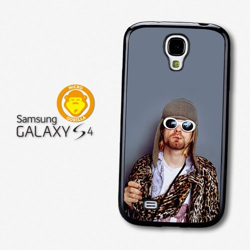 Sale alerts for Micro Gorilla Kurt Cobain Wearing Glasses Portrait case for Samsung Galaxy S4 A4075 - Covvet