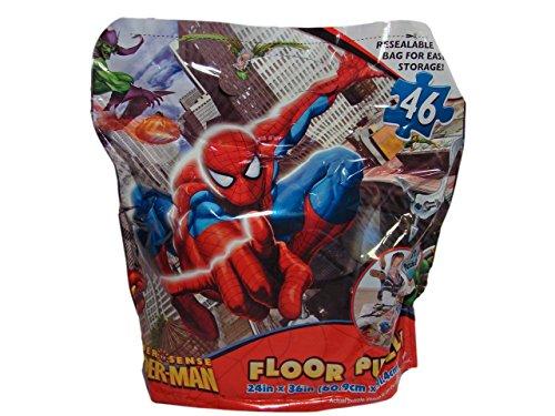 Spider Sense Spider-Man 46 Piece 3 Foot Floor Puzzle - 1