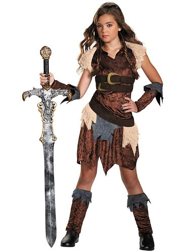 Disguise Dress Up Dolls Barbarian Beauty Tween Costume