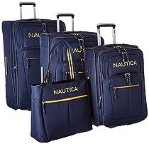 Nautica Luggage Helmsman 4 Piece Luggage Set (28