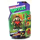 Michelangelo Throw N Battle Teenage Mutant Ninja Turtles TMNT Action Figure