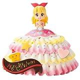アイカツ!キラメキドレスケーキ キャラデコクリスマス (いちごケーキ) 5号サイズ ※12/22~23にお届けいたします