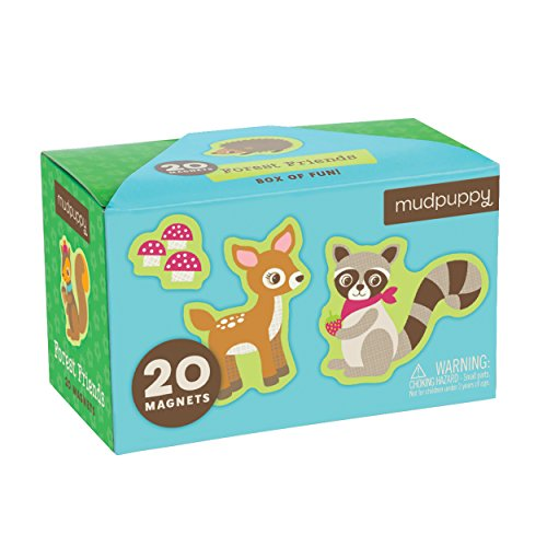 Mudpuppy Forest Friends Box of Magnets - 1