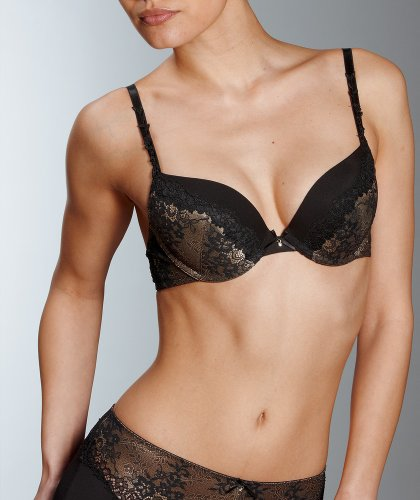 "Mey Dessous ""CELINE"" Damen Push up-BHs Schwarz 80B"