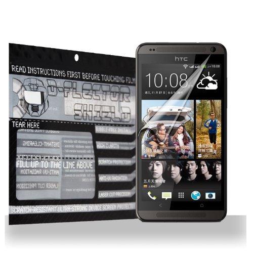 D-Flectorshield Htc Desire 700 Scratch Resistant Screen Protector - Free Replacement Program front-619209