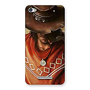 Stylish Cowboy Multicolor Back Case Cover for Micromax Hue 2