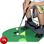 BBTradesales Potty Putter, Toilet Golf, Gioco Golf