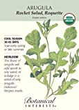 Arugula Certified Organic Heirloom Seeds 200 Seeds
