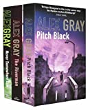 Alex Gray Alex Gray Collection 3 Books Set Pack Set RRP: £ 21.97 (Pitch Black, The Riverman, Never Somewhere Else) (Alex Gray Collection)